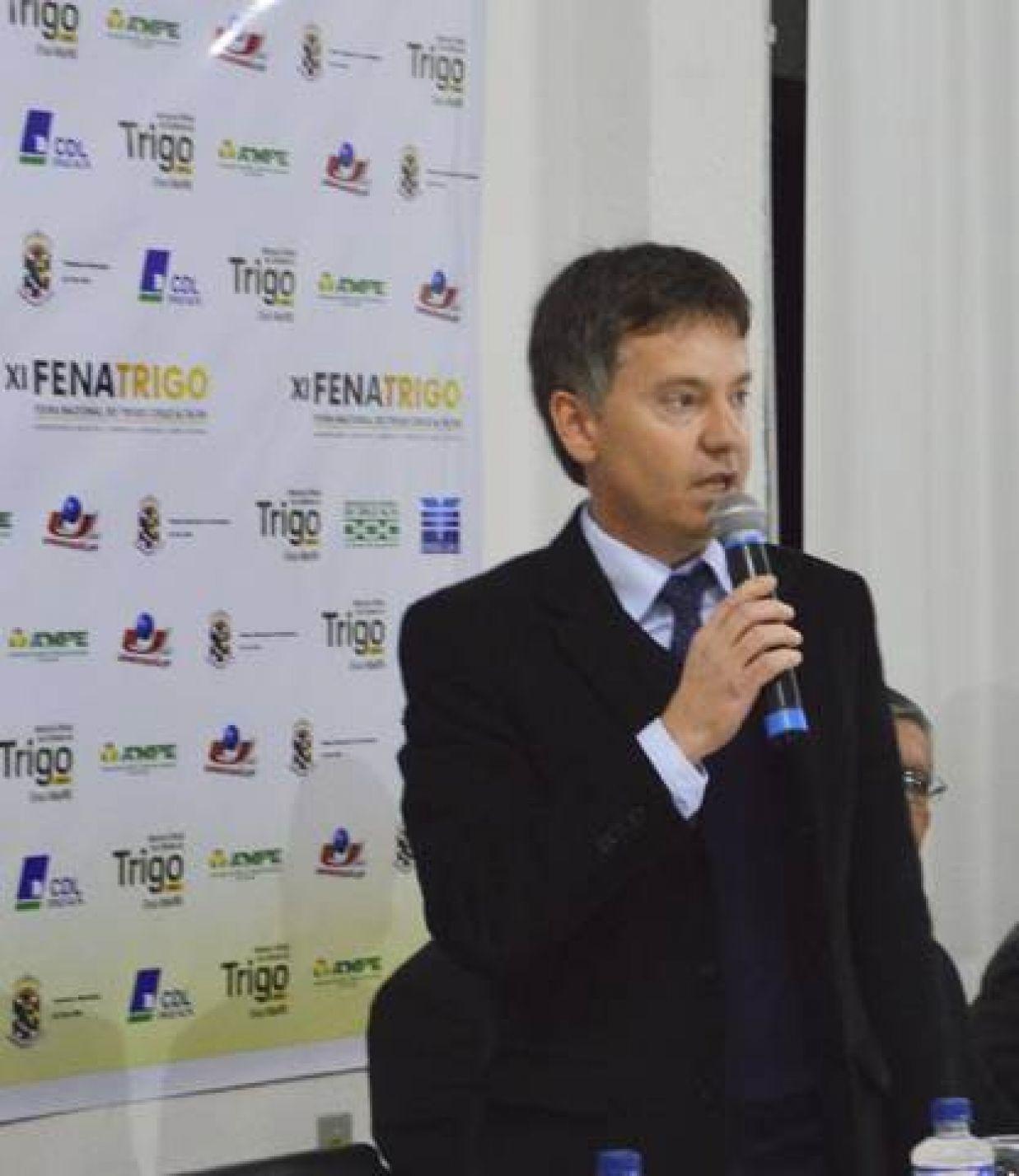 Airton Becker - Presidente da XIV FENATRIGO