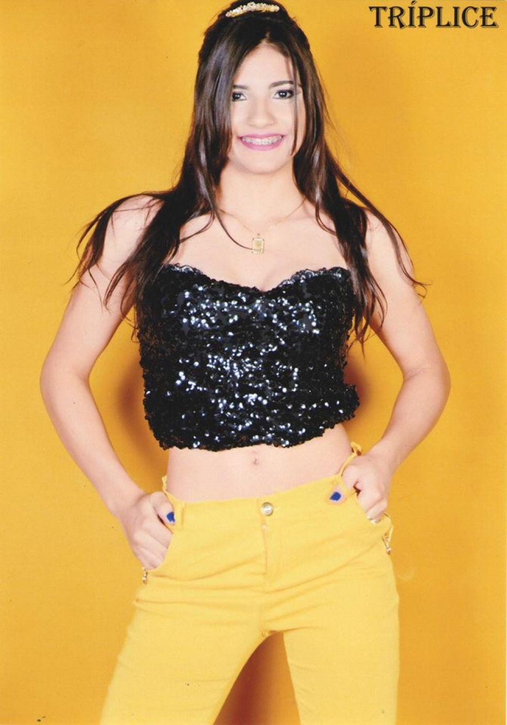 Andreia Camila de Quadros dos Santos - 17 Anos - Representa: