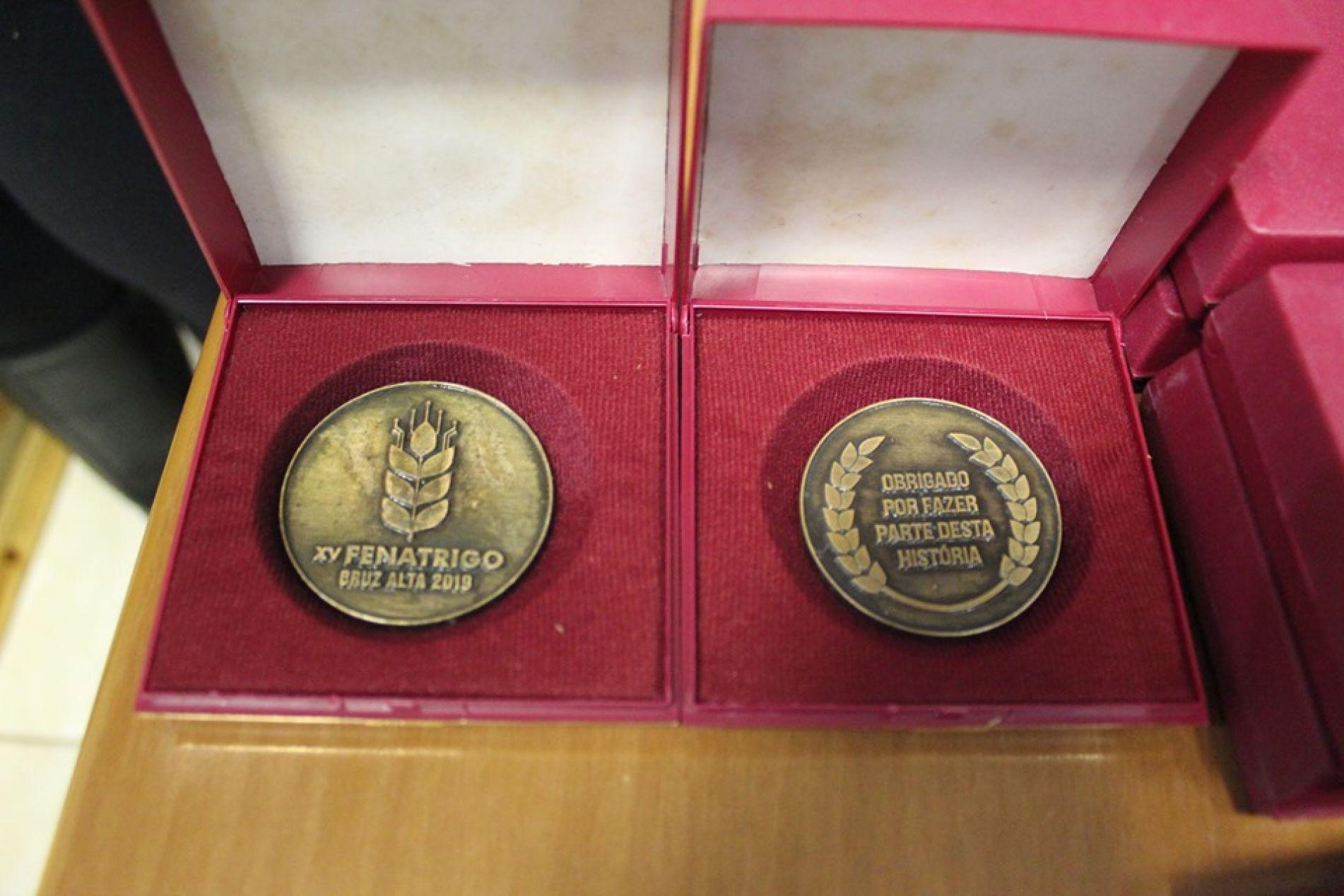 Medalhas foram distribuidas